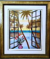 Window on Lagoon  Limited Edition Print by Fanch Ledan - 6