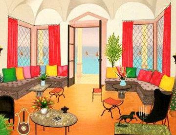 Villa Eole AP Huge Limited Edition Print - Fanch Ledan