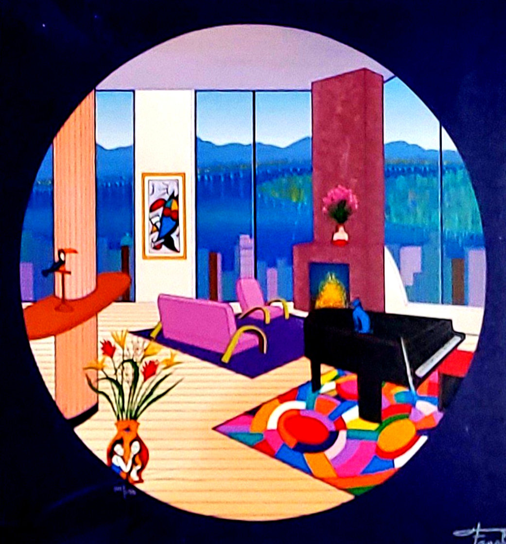 Interior With Grand Piano I 2011 Limited Edition Print by Fanch Ledan