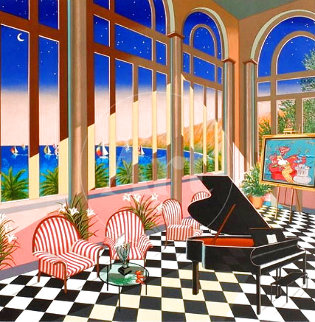 Interior With Max 1994 Limited Edition Print - Fanch Ledan