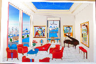 Interior With Four Picasso 1999 Limited Edition Print by Fanch Ledan - 1