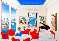 Interior With Four Picasso 1999 Limited Edition Print by Fanch Ledan - 0