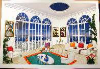 Interior With Miro 1996 Limited Edition Print by Fanch Ledan - 1