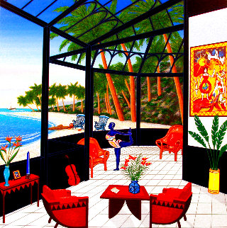 Life is a Beach 2001 Limited Edition Print - Fanch Ledan