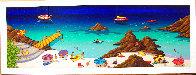 Malaga Beach 2002 Limited Edition Print by Fanch Ledan - 1