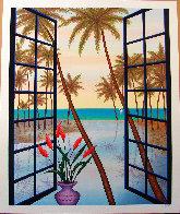 Window on Lagoon 2002 Limited Edition Print by Fanch Ledan - 1
