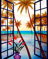 Window on Lagoon 2002 Limited Edition Print by Fanch Ledan - 0