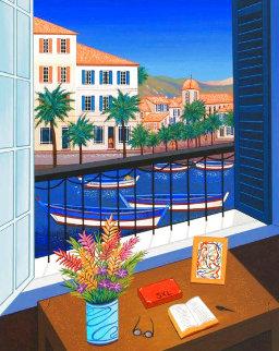 Window on Bonifacio 1998 Limited Edition Print - Fanch Ledan