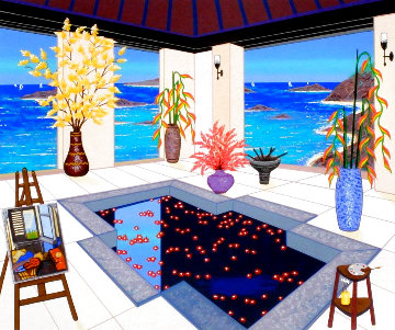 Interior With Spa 2006 Limited Edition Print - Fanch Ledan