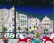Nice Market Hall, France 2005 26x32 Original Painting by Fanch Ledan - 0