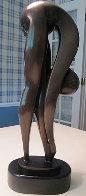 Gymnast Bronze Sculpture  21 in Sculpture by Nomi Faran - 0