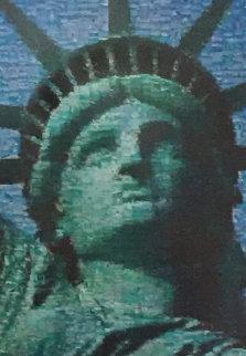 Face of Liberty AP 2005 Limited Edition Print - Neil J. Farkas