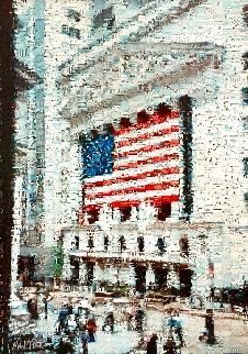 Wall Street Flag EA 2005 Limited Edition Print - Neil J. Farkas