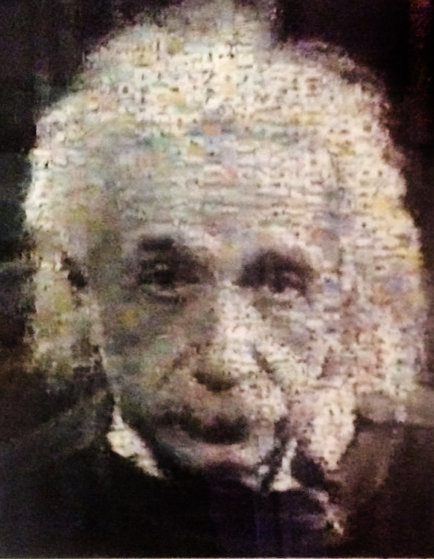 Einstein AP 2001 Limited Edition Print by Neil J. Farkas