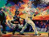Johnny Damon Grand Slam 2005 Embellished Limited Edition Print by Malcolm Farley  - 1