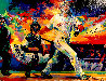 Johnny Damon Grand Slam 2005 Embellished Limited Edition Print by Malcolm Farley  - 0