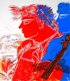 Musiciens Limited Edition Print - Alexandre Fassianos