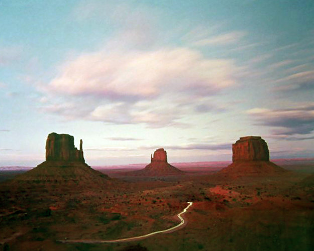 Twilight Traffic AP Panorama by Michael Fatali