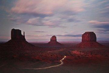 Twilight Traffic 1992  Panorama by Michael Fatali