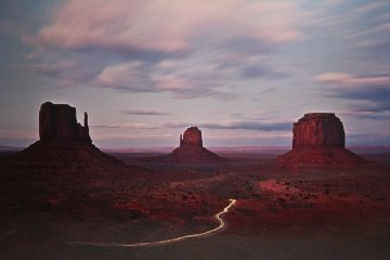 Twilight Traffic 1992  Panorama by Michael Fatali