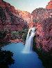 Havasu Falls, Arizona 1991 Panorama by Michael Fatali - 0