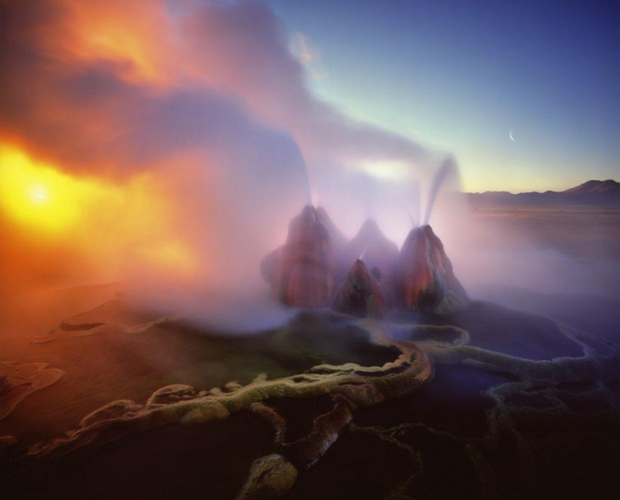 Earth Spirit Rising 2002 Panorama by Michael Fatali