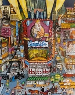 Off Broadway 3-D 1985 Limited Edition Print - Charles Fazzino