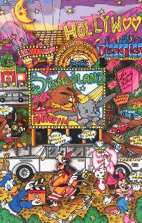 Anaheim 3-D AP 1/25 Limited Edition Print - Charles Fazzino