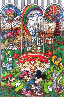 Tokyo Disneyland 3-D AP  1/25 Limited Edition Print by Charles Fazzino