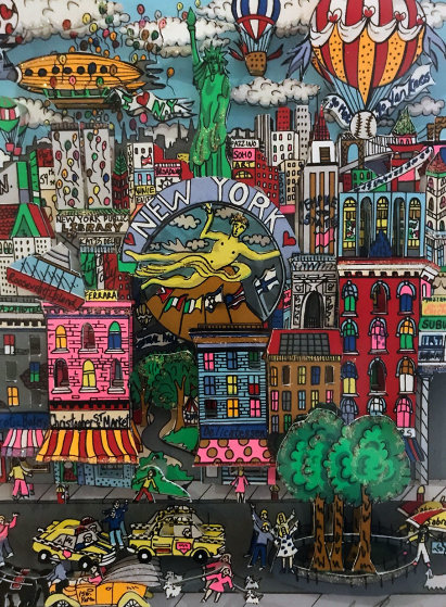 Totally New York 3-D Limited Edition Print by Charles Fazzino