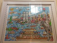 Gateway to New York   3-D 1987 Limited Edition Print by Charles Fazzino - 1