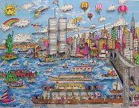 Gateway to New York   3-D 1987 Limited Edition Print by Charles Fazzino - 0