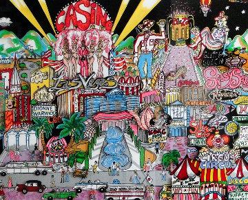 Viva Las Vegas 1990 3-D Limited Edition Print by Charles Fazzino