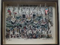 Wall Street 3-D Limited Edition Print by Charles Fazzino - 2