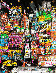 That Night in New York 3-D Limited Edition Print - Charles Fazzino