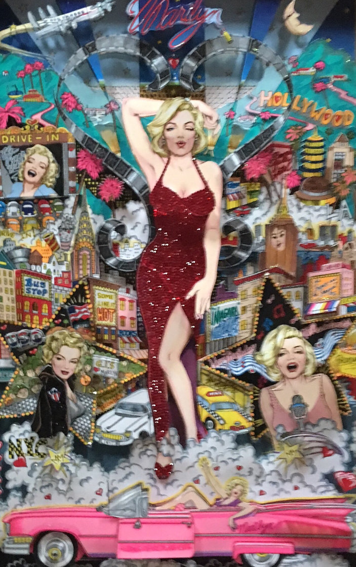 Forever Marilyn AP 3-D Limited Edition Print by Charles Fazzino