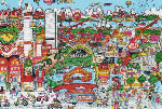 Beantown  3-D 1991   Limited Edition Print - Charles Fazzino