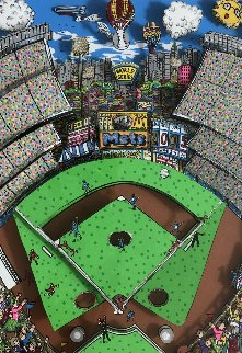 Strike Out 3-D 1994 Limited Edition Print by Charles Fazzino