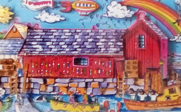 Motif #1 1995  3-D   Limited Edition Print by Charles Fazzino