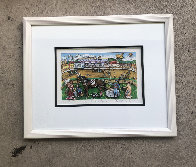 Life Is A Horse Race 3-D 1980   Limited Edition Print by Charles Fazzino - 2