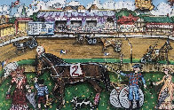 Life Is A Horse Race 3-D 1980   Limited Edition Print by Charles Fazzino - 0