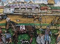 Life Is A Horse Race 3-D 1980   Limited Edition Print by Charles Fazzino - 1
