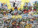 Mickey's World Tour 3-D 1996 Limited Edition Print by Charles Fazzino - 0