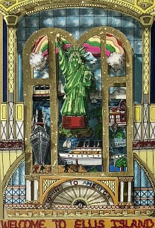 Celebration of Heritage 3-D 1999  Limited Edition Print by Charles Fazzino