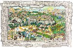 For Israel, Forever 2008 Limited Edition Print - Charles Fazzino