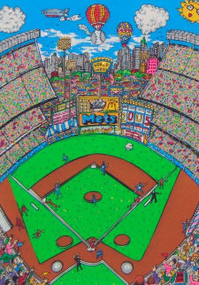 Strike Out  3-D 1993 Limited Edition Print by Charles Fazzino