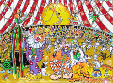 Circus Fun 3-D  2000   Limited Edition Print by Charles Fazzino