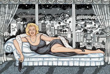 Essence of Marilyn 3-D 1994 Limited Edition Print - Charles Fazzino