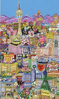 Vegas Vacation 3-D Limited Edition Print - Charles Fazzino