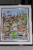 I'll Take Manhattan 3-D Limited Edition Print by Charles Fazzino - 3